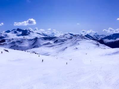 カナダスキー旅行(ウィスラー、ブラッコム)1995年2月