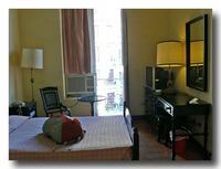 プラザホテルの部屋