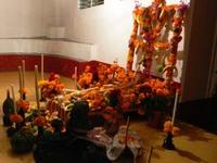 島の教会:死者の日の祭壇