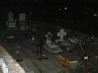 墓地の様子