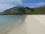 フィジー ヤサワ諸島 ナズラ島のビーチ