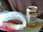 ハルビンビールとソーセージ
