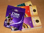 秋林公司のチョコレートボンボン