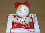 招財の猫 中国(台湾)版招き猫
