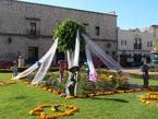 メキシコの死者の日:モレーリアの祭礼準備