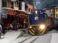 マチュピチュの麓:アグアスカリエンテスの町の様子