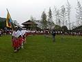 プユマ族 南王部落 大猟祭 1:狩りを終えた男たちが山から帰還!