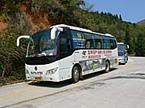 中国福建省の旅:なかなかに力業の中国バスサービスに関心。
