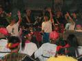 プユマ族 大猟祭:初鹿部落の大猟祭は大晦日から一晩中続く。