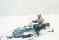 カナダで初海外スキー:スキーとスノーモービル体験。