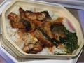 相変わらずスリランカ航空の機内食は和食だった。