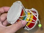 バラナシで買った太鼓