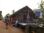 チェンライ ラフ族の村 ラフ族の家屋