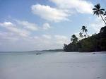 ケイ島のパサールパンジャン ビーチ