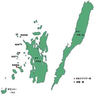 ケイ群島 全体図