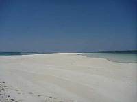 スネークアイランド 真っ白い砂浜が綺麗