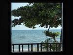 チャーン島のコテージからの眺め