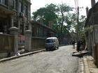 旧日本人街の一角