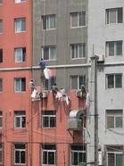 大連の壁塗り職人