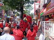 横浜中華街 国慶節の獅子舞 2011