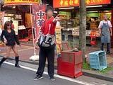 横浜中華街 国慶節の獅子舞 2011 ばくち方