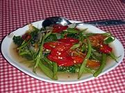 トゥミス・カンクン 空芯菜の炒め煮