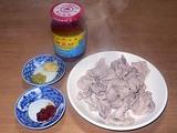 ゆでエゴマ豚と台湾の豆味噌