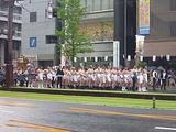 鹿児島祇園祭 ふんどしと地下足袋姿の男衆