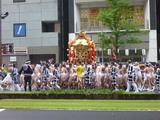 鹿児島祇園祭 行軍開始