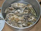 志津川産 牡蠣の酒蒸し