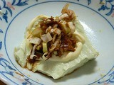 ビグザム豆腐のおいしかった食べ方 マヨネーズ生姜おかか醤油葱