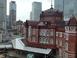 KITTEの旧郵便局長室から見た東京駅