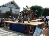 那須烏山市 山あげ祭 野外歌舞伎 舞台 将門