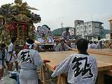 那須烏山市 山あげ祭 野外歌舞伎 舞台解体