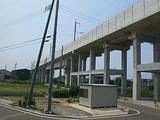 北陸新幹線の橋脚