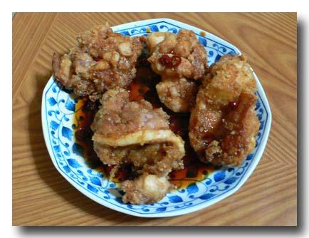油淋鶏ユーリンチーのレシピ