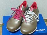 リーボック イージートーンの靴紐をかたっぽ交換する
