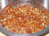 ひよこ豆を水で戻す 2時間後