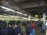 宇都宮駅に停車する始発のアキュム