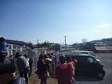 那須烏山駅にアキュムが到着する