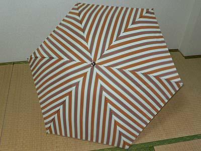 折れた折りたたみ傘の骨を修理!旅もお気に入りの傘でゆくのだ。