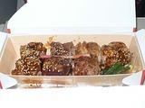 創作寿司 牛肉の巻 蓋を開けたところ