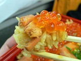 新幹線の醍醐味。駅弁とデパ地下で牡蠣フライやはらこ飯。
