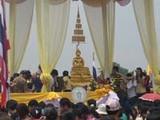 水掛祭りのお参り用の仏像