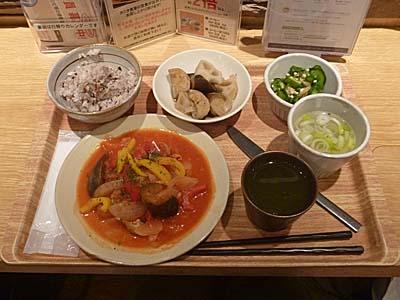 東京散歩:初「タニタ食堂」と小宮商店の高級日傘♪