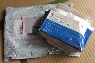 シャープのマスク抽選販売に!中国直輸入のマスクはごわごわ。布マスクも買ったよ。