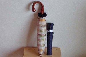 小宮商店の日傘とWpc.の70gの折りたたみ傘