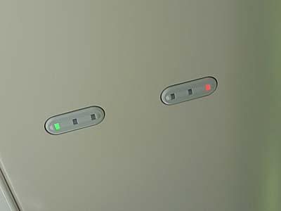 特急ひたち 常磐線 指定席表示ランプ