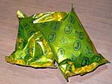 プーさん菓子の箱の中身