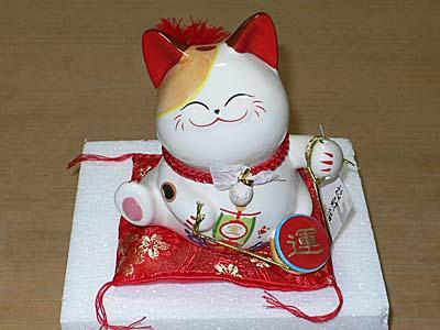 中国製招き猫